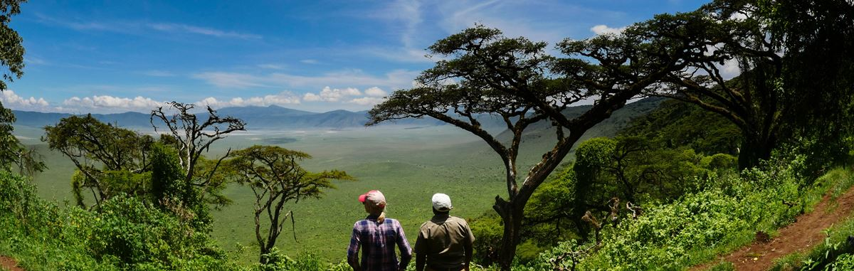 Step by Step Around Ngorongoro