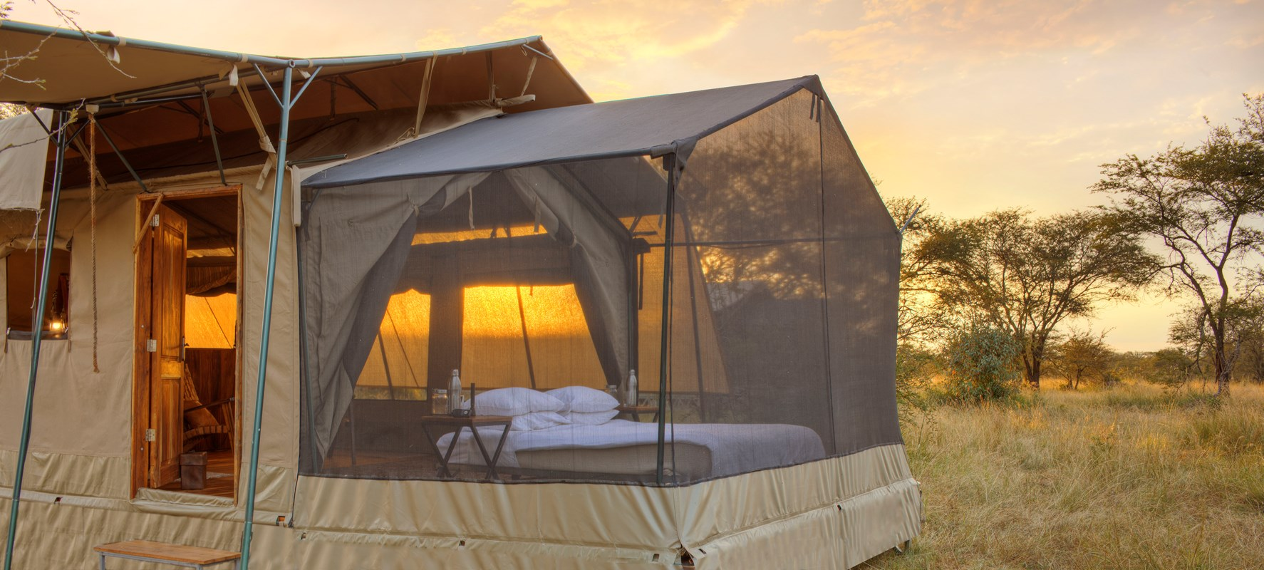 3. Olakira Star Gazing Tent, Set Up For Guest To Spend The Night Under The Stars Reduced Size