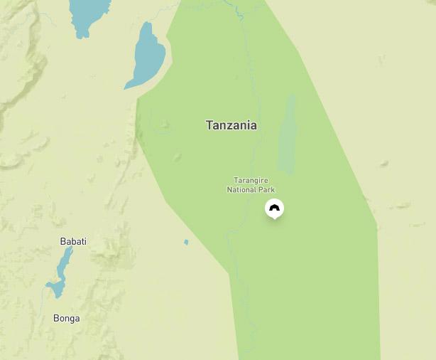tan-region-tarangire-map
