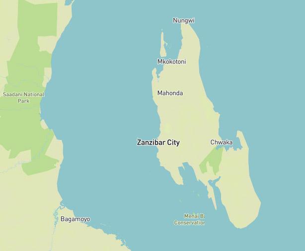 Map Of Africa Zanzibar.Zanzibar Beach Holidays East Africa Asilia Africa