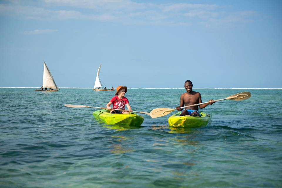 Matemwe Beach House Kayaking
