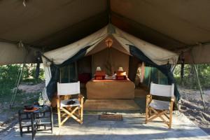 Ubuntu-Accommodation - Ubuntu-Camp-2012-Tent-interior-028