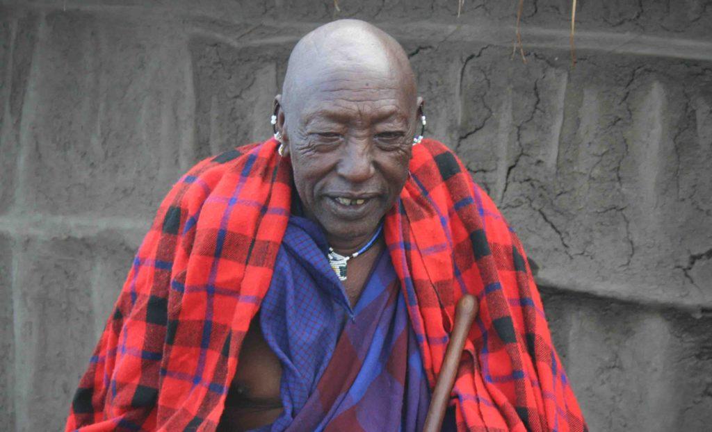 Mwasuni, a Maasai elder | East Africa Safaris