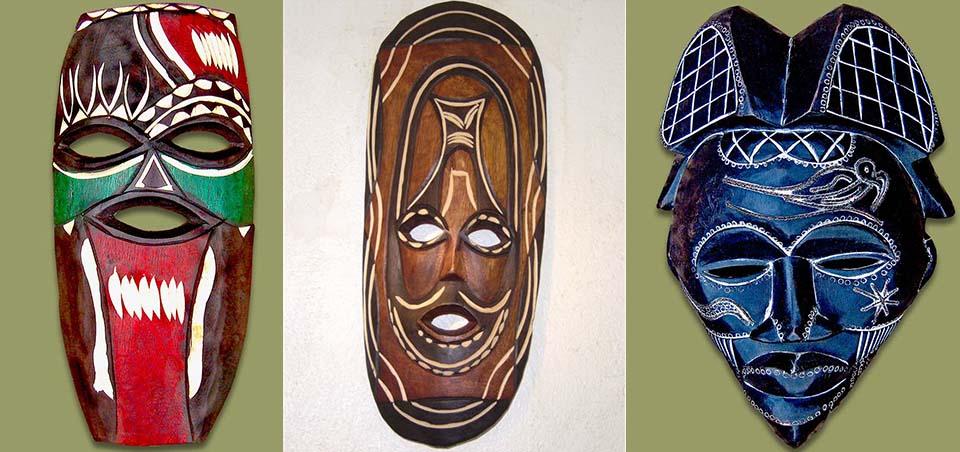east african masks asilia africa