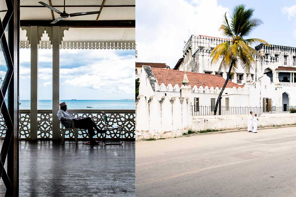 The most beautiful architecture can be found in Stone Town.