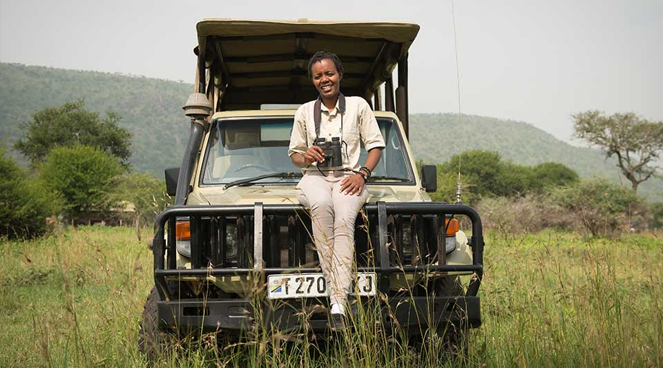 Dunia Camp, East Africa's first almost all-woman safari camp, is running like clockwork.