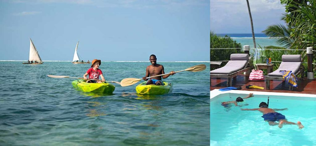 The Beach House is the perfect escape for families looking for a private slice of Zanzibar's beautiful coastline.