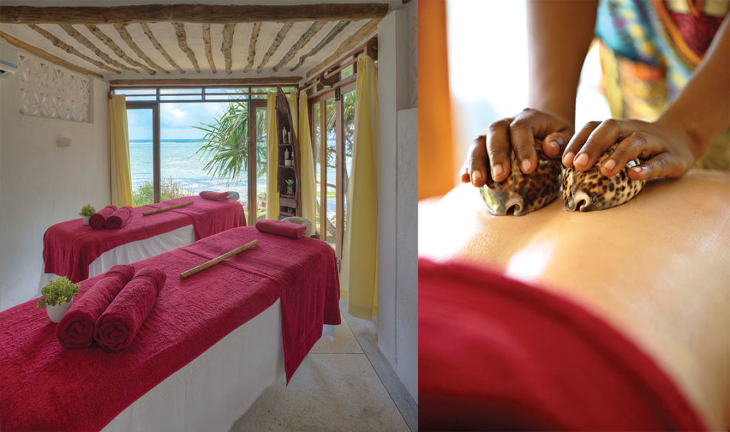 Choose from a range of delightful treatments at our Asilia Spa at Matemwe.