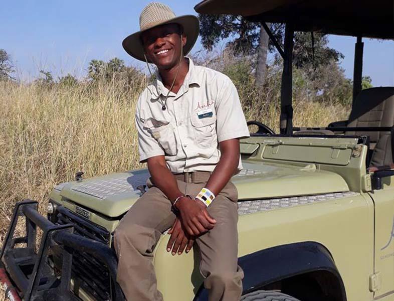 Tony Zephania, guide at Kwihala Camp