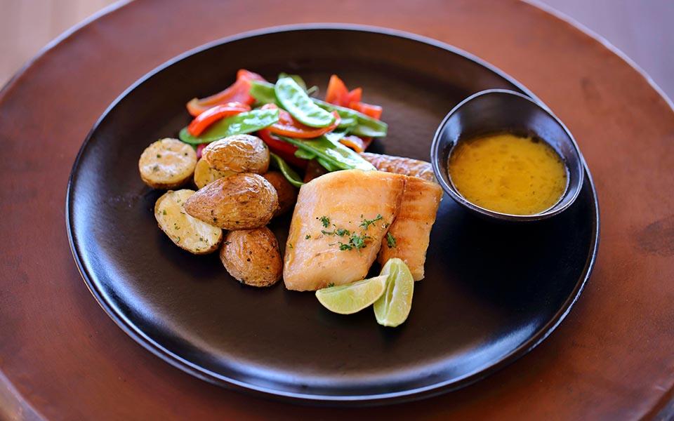 Delicious meal served at Jabali Ridge, Asilia Africa