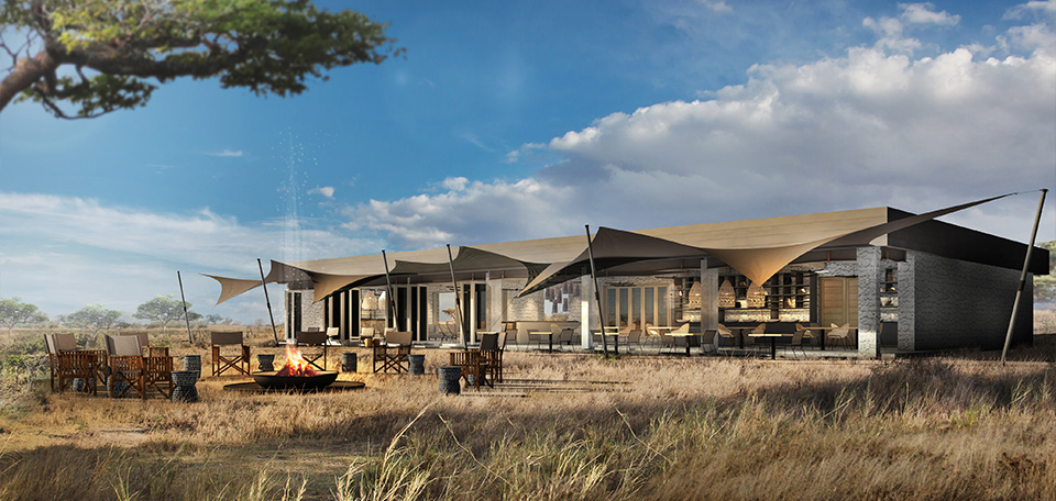 Spend time relaxing in the newly reimagined main areas of Namiri Plains.