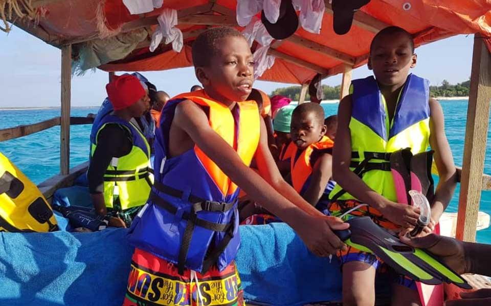 twende baharini boat trip