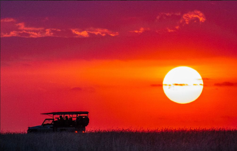 African sunsets are unbeatable. Photo credits: Tanveer Badal