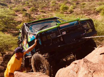 Rhino Charge: 4x4ing To Save Kenya's Mountain Ecosystems