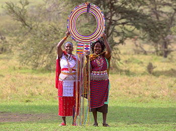 Supersized Traditional Maasai Necklace