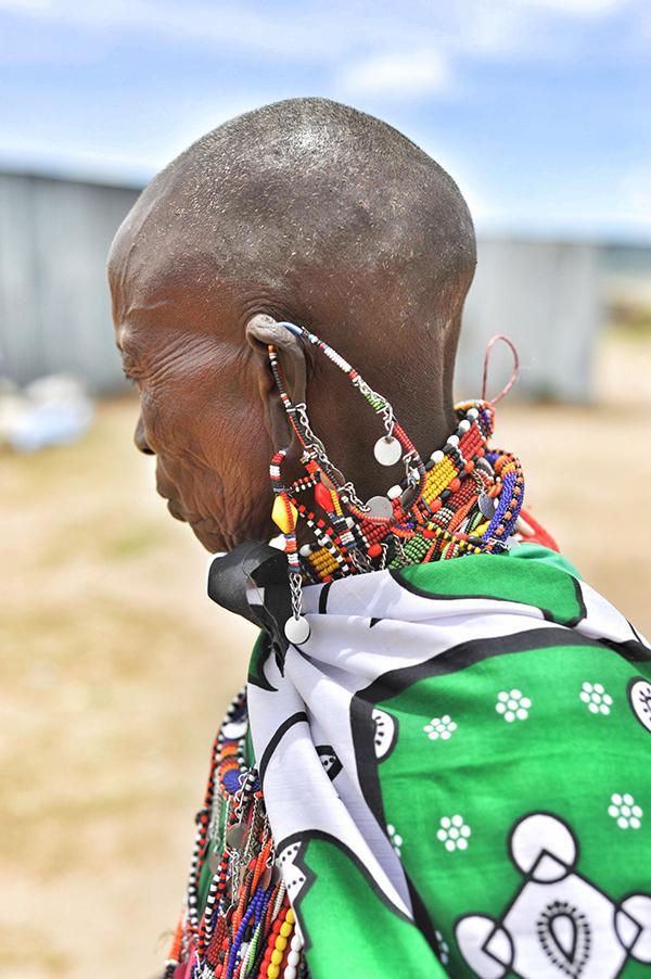 Naboisho conservancy Maasai woman