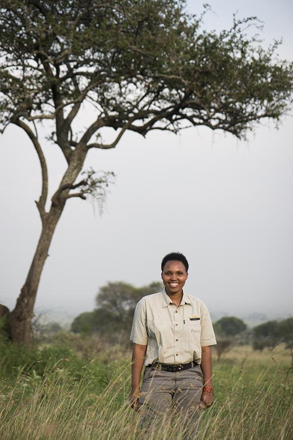 Angel of Dunia in Serengeti