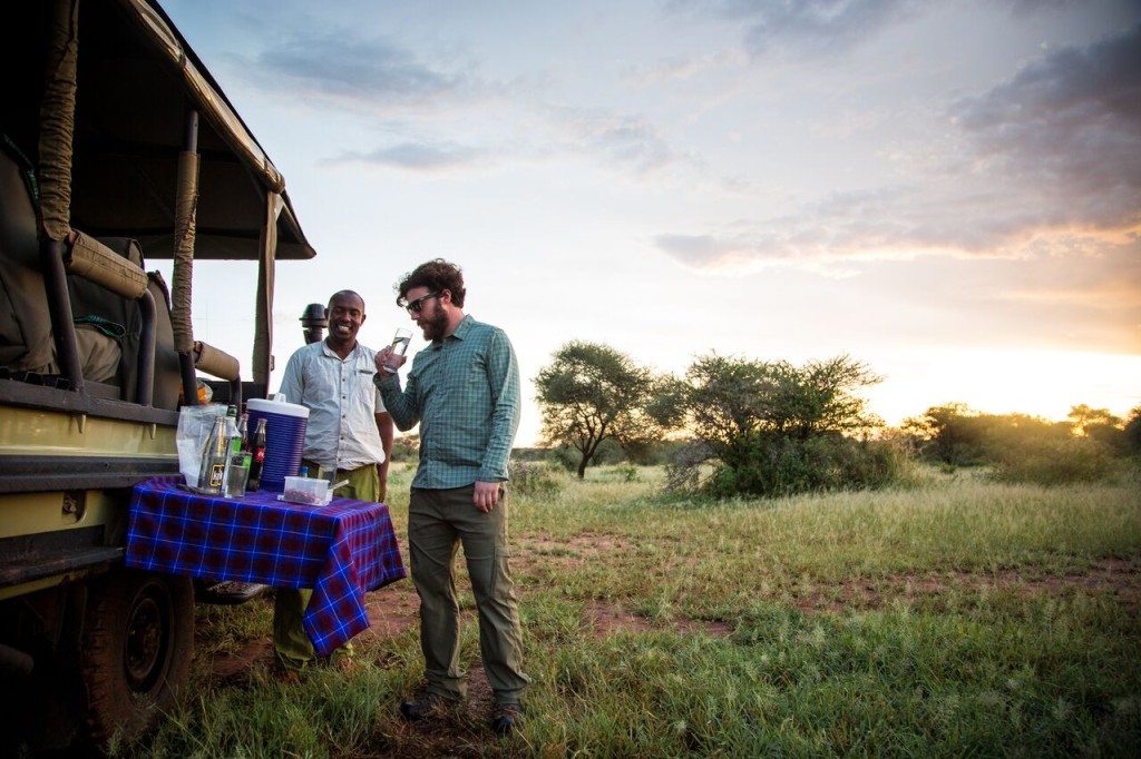 Night Drive Safari - Sundowners